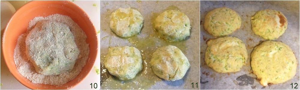 Hamburger di zucchine con cuore filante ricetta al forno il chicco di mais 4