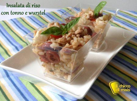 Insalata di riso con tonno e wurstel (ricetta estiva)