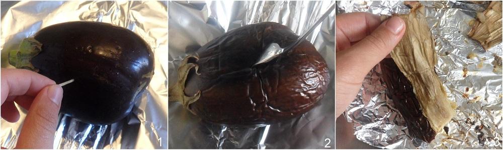 Melitzanosalata ricetta salsa di melanzane greca il chicco di mais 1