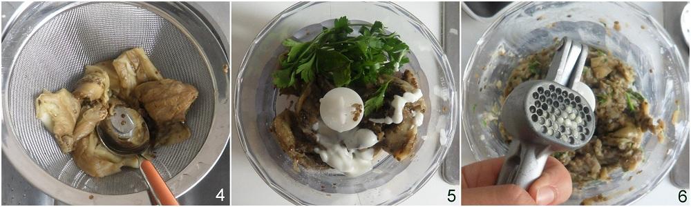 Melitzanosalata ricetta salsa di melanzane greca il chicco di mais 2 unire yogurt e aromi