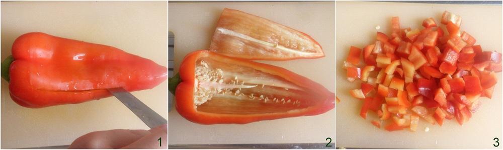Peperoni ripieni con mozzarella e olive ricetta saporita il chicco di mais 1