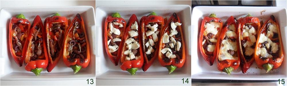 Peperoni ripieni con mozzarella e olive ricetta saporita il chicco di mais 5