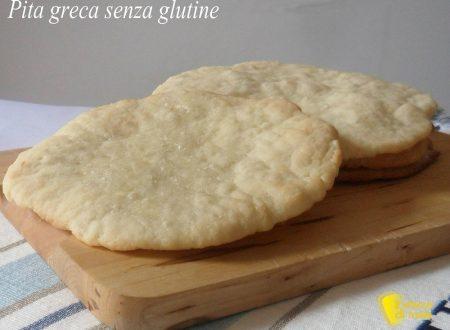 Pita senza glutine (ricetta pane greco)