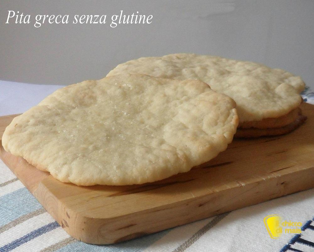Pita senza glutine ricetta pane greco il chicco di mais