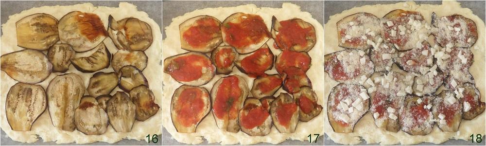 Girelle di pizza alla parmigiana ricetta per buffet 6