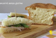 Pancarrè senza glutine per tramezzini (ricetta facile)