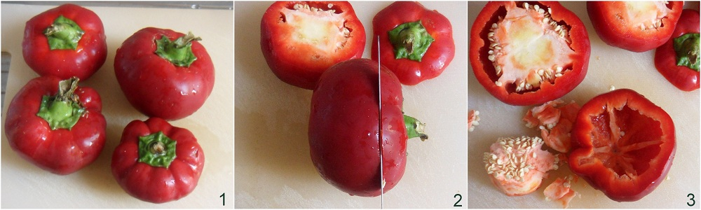 Peperoni ripieni di carne ricetta secondo il chicco di mais 1