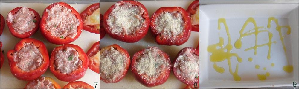 Peperoni ripieni di carne ricetta secondo il chicco di mais 3