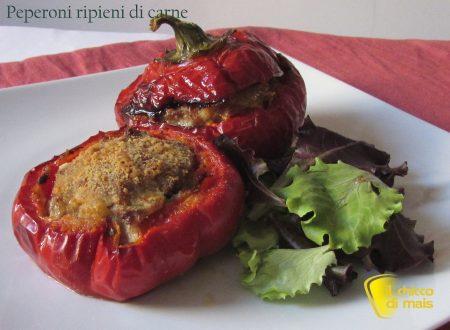 Peperoni ripieni di carne (ricetta secondo)