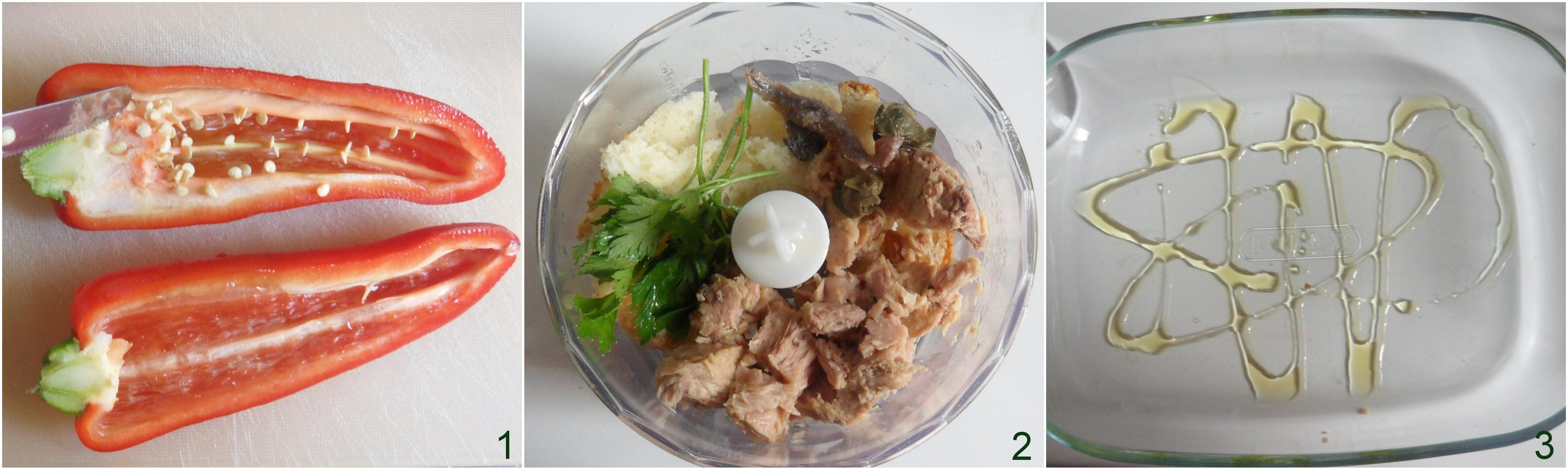 Peperoni ripieni di tonno ricetta veloce il chicco di mais 2
