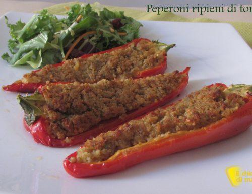 Peperoni ripieni di tonno (ricetta veloce)