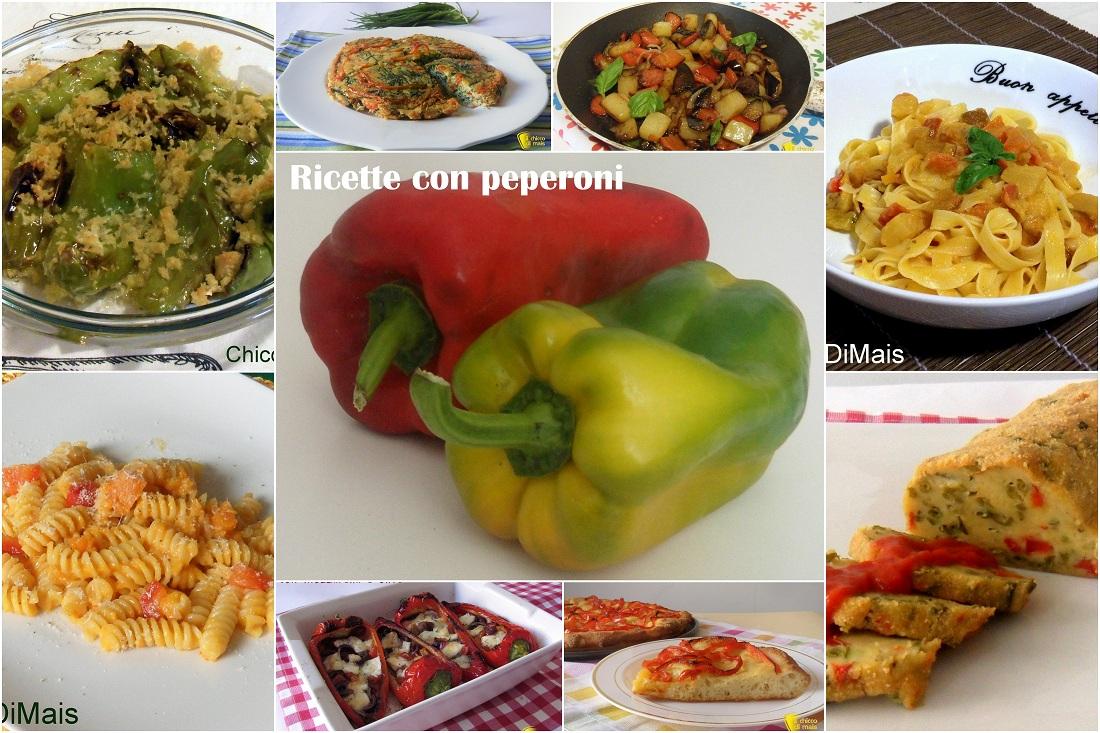 Ricette con peperoni facili e veloci il chicco di mais