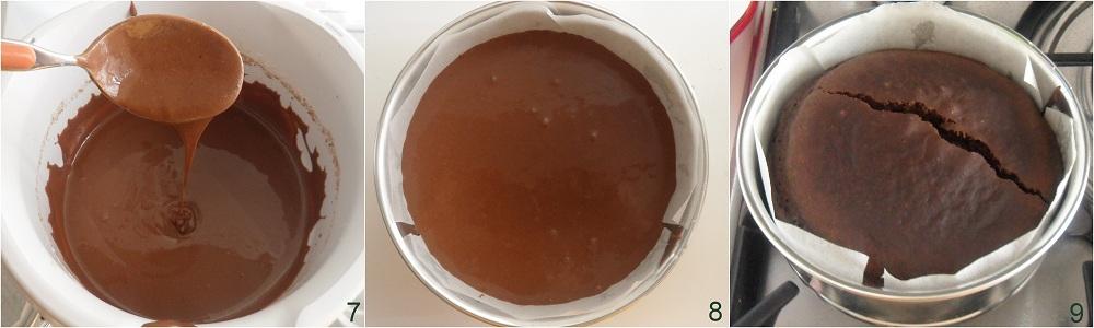 Torta all'acqua al cacao ricetta senza uova il chicco di mais 3