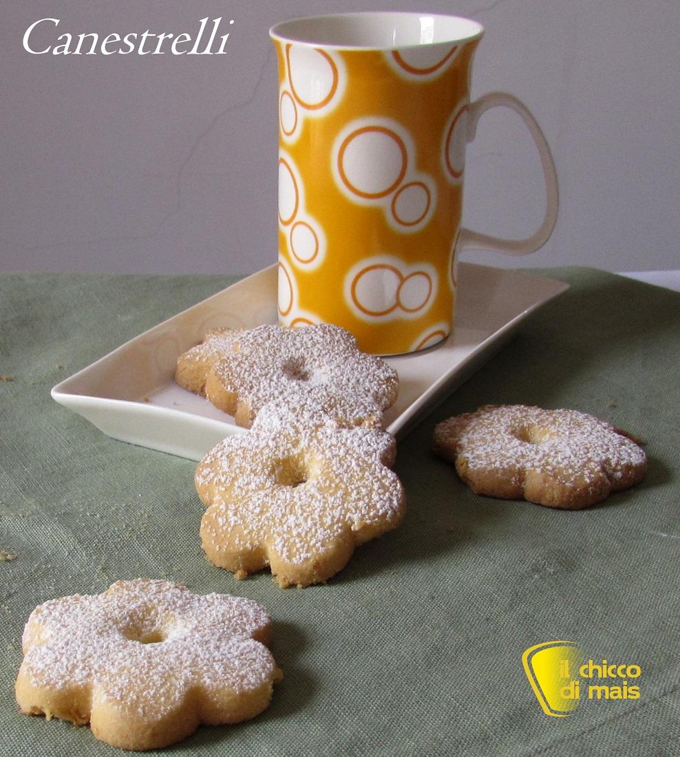 Biscotti canestrelli ricetta con e senza glutine il chicco di mais