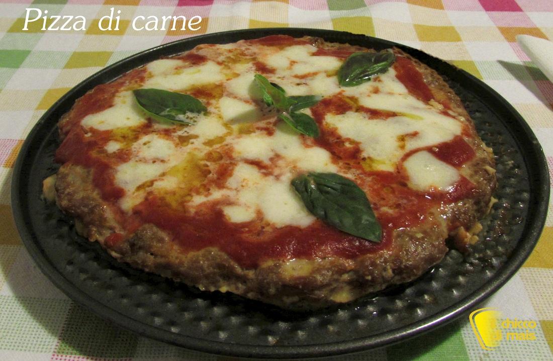 Pizza di carne ricetta secondo il chicco di mais