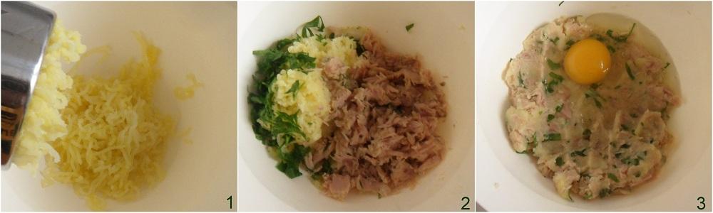 Polpette di tonno su crema di cannellini ricetta secondo il chicco di mais 1