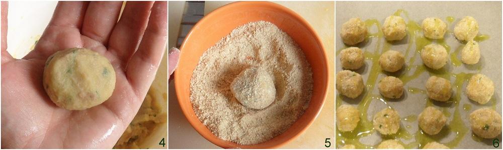 Polpette di tonno su crema di cannellini ricetta secondo il chicco di mais 2