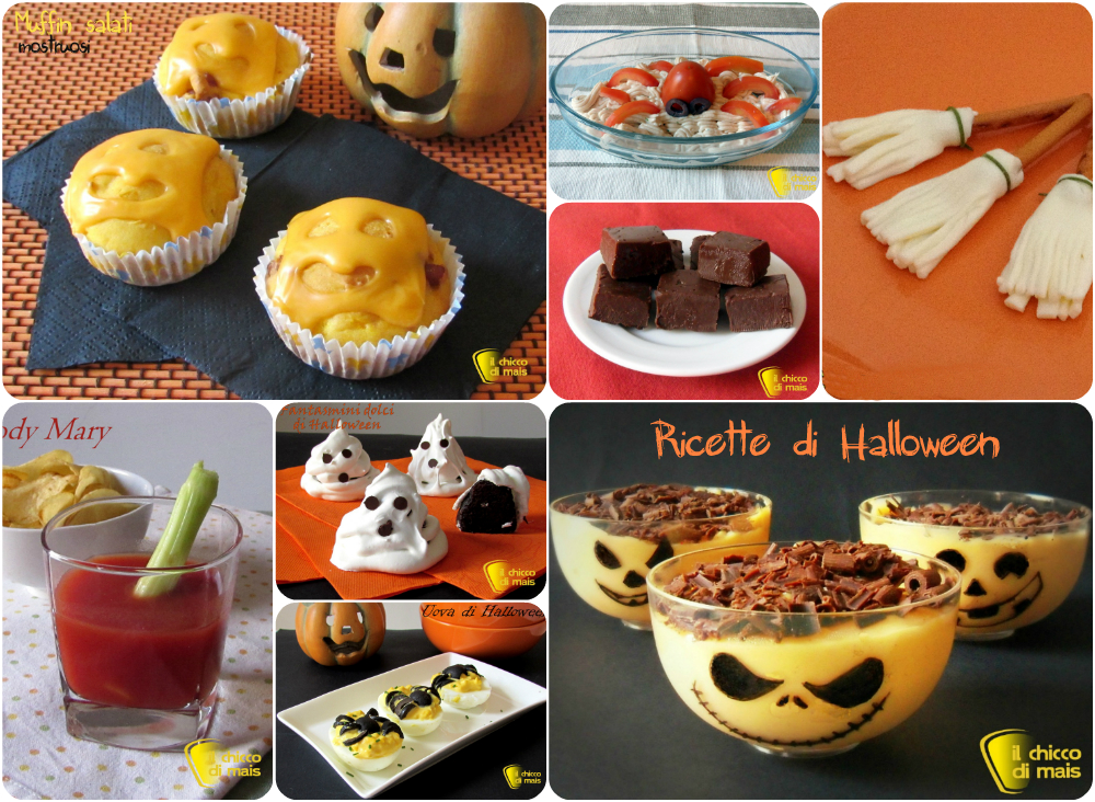 Speciale Halloween ricette dolci e salate