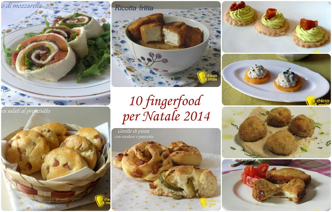 fingerfood per Natale