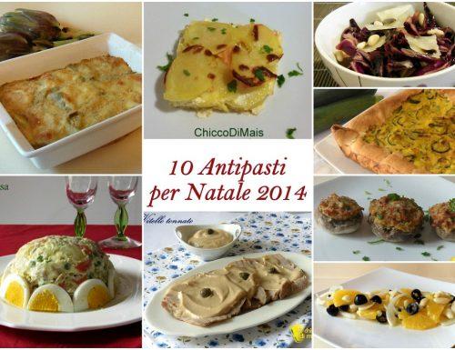 10 Antipasti per Natale 2014: ricette facili