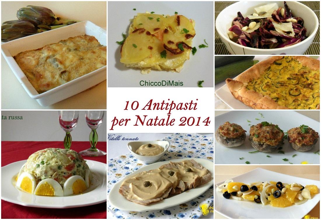 10 Antipasti Di Natale.10 Antipasti Per Natale 2014 Ricette Facili