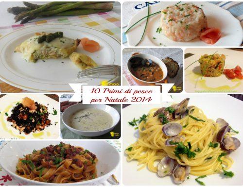 10 primi di pesce per Natale 2014: ricette facili