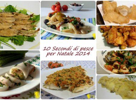10 secondi di pesce per Natale 2014: ricette facili