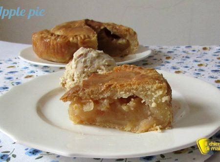 Apple pie (ricetta torta di mele americana)