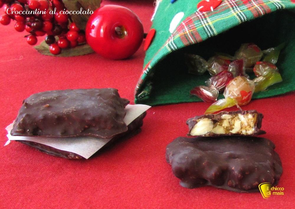 Croccantini al cioccolato ricetta della befana il chicco di mais