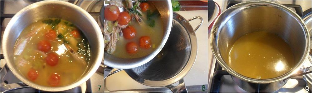 Fumetto di pesce o brodo di pesce ricetta base il chicco di mais 3