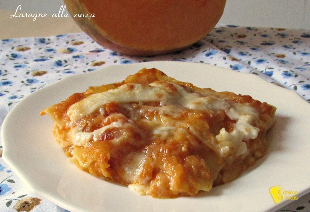 Lasagne alla zucca ricetta vegetariana il chicco di mais 02