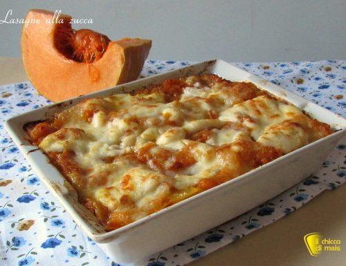 Lasagne alla zucca (ricetta vegetariana)