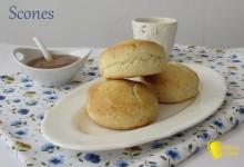 Scones, panini inglesi (ricetta con e senza glutine)