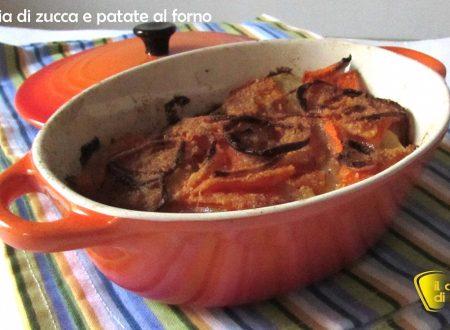 Teglia di zucca e patate al forno (ricetta facile)