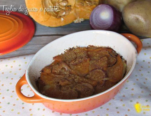 Teglia di zucca e patate al forno