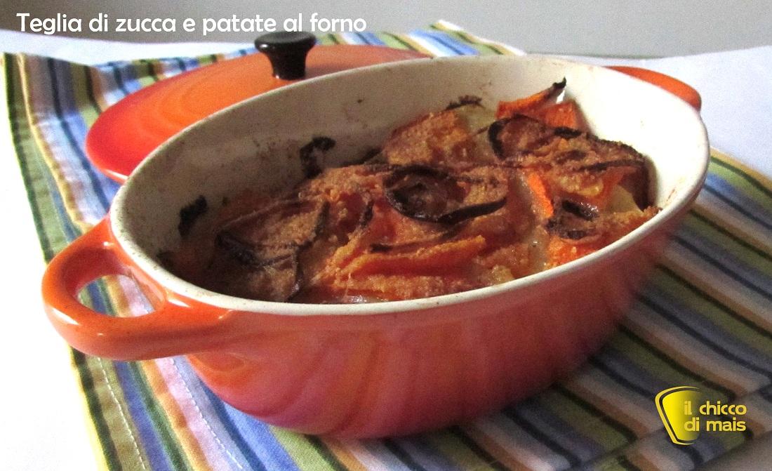 Teglia di zucca e patate al forno ricetta facile il chicco di mais