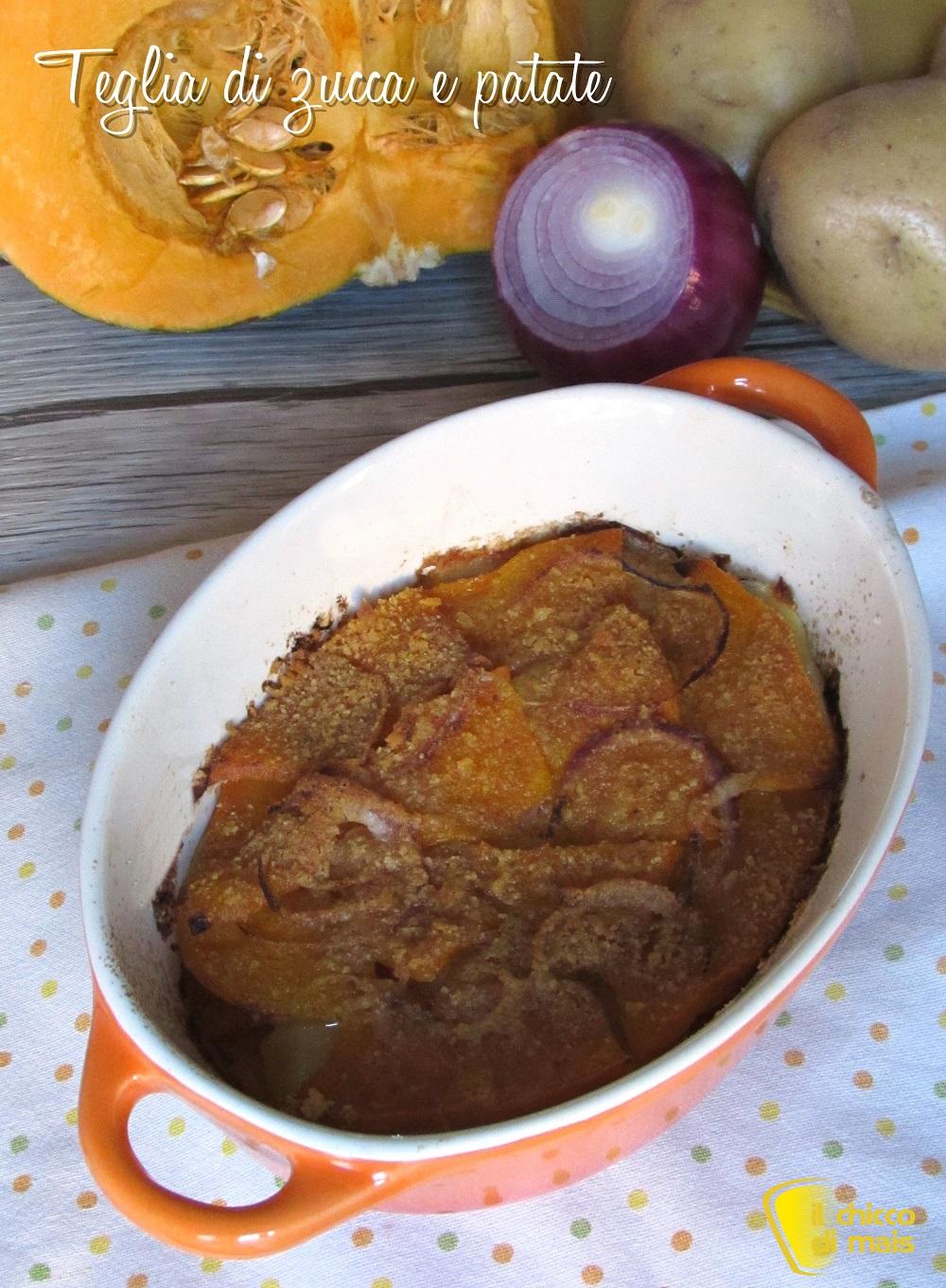 verticale_Teglia di zucca e patate al forno ricetta facile il chicco di mais