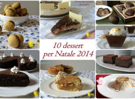 10 dessert per Natale 2014: ricette facili