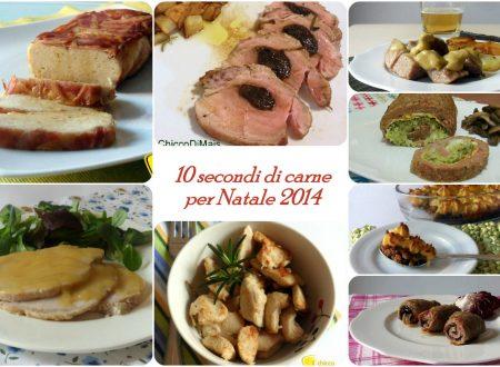 10 secondi di carne per Natale 2014: ricette facili