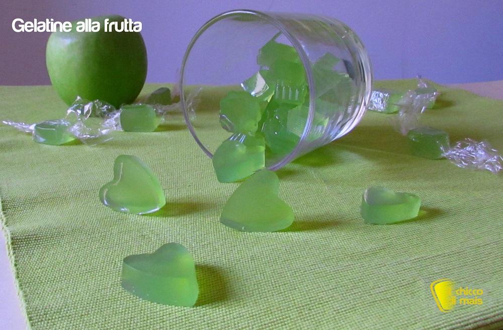 Caramelle gelatine fatte in casa ricetta facile il chicco di mais verdi