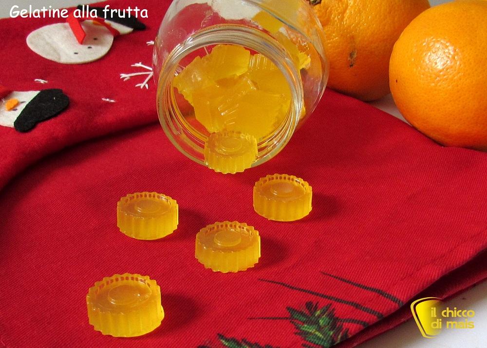 Caramelle gelatine fatte in casa ricetta facile il chicco di mais