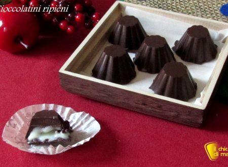 Cioccolatini ripieni al cioccolato bianco