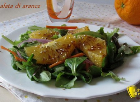 Insalata di arance al balsamico (ricetta light)