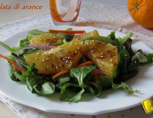 Insalata di arance al balsamico