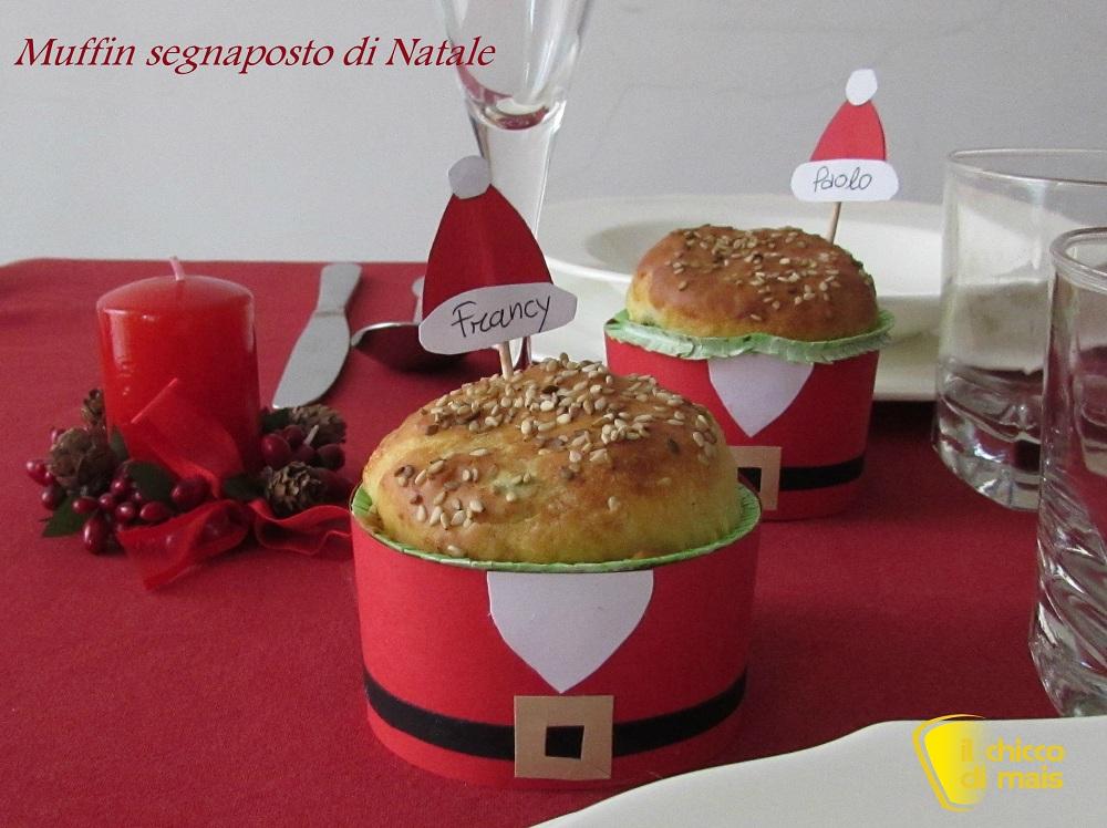 Muffin segnaposto di natale fai da te - Centrotavola natale fai da te ...