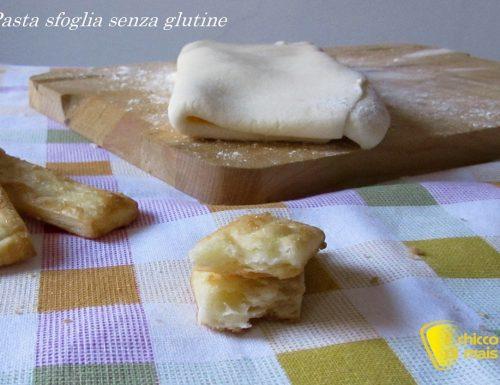 Pasta sfoglia senza glutine (ricetta semplificata con video)