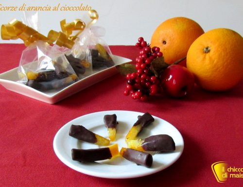 Scorze di arancia al cioccolato (ricetta veloce)