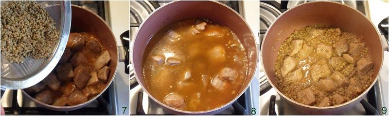 Spezzatino con lenticchie ricetta invernale il chicco di mais 3