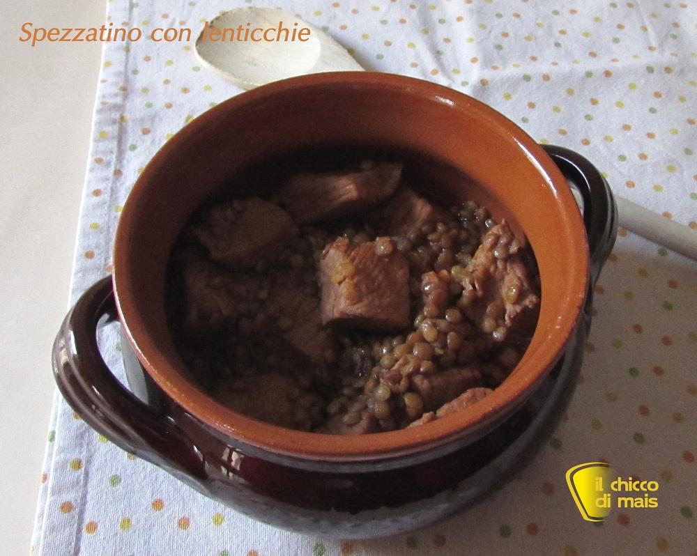 Spezzatino con lenticchie ricetta invernale il chicco di mais