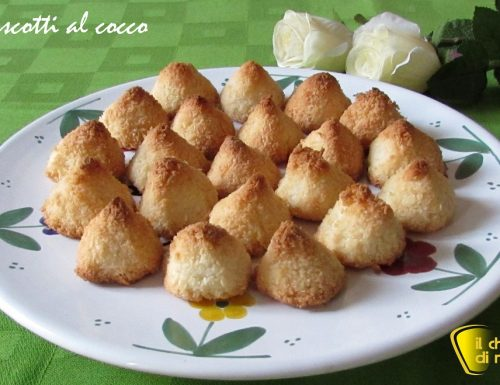 Biscotti al cocco (ricetta con soli albumi)